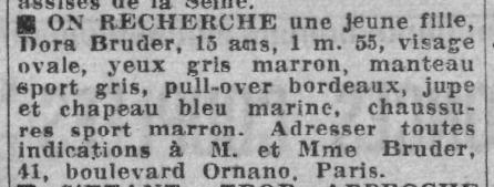 Avis_de_recherche_pour_Dora_Bruder_Paris-Soir_31_décembre_1941