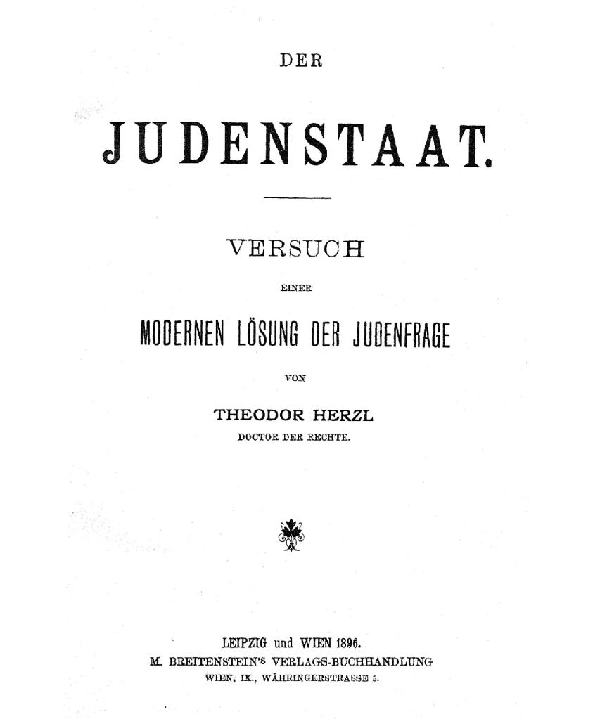 DE_Herzl_Judenstaat_01