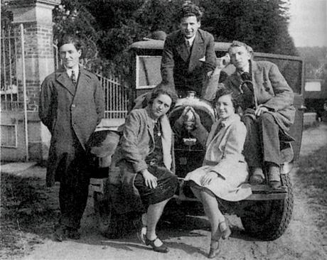 Group-descreened